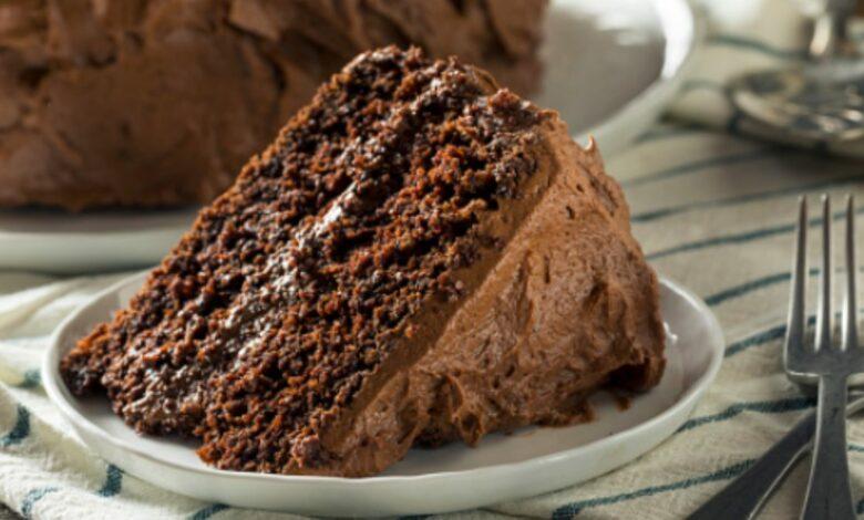 Receta de tarta de chocolate casera de la abuela fácil 1