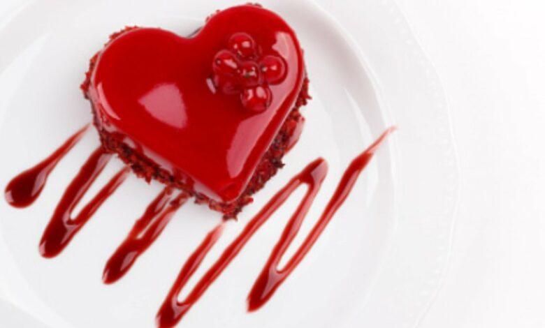 Receta de Tarta de San Valentín fácil de preparar 1