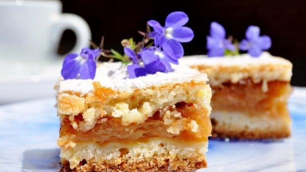 Receta de tarta de manzana campesina