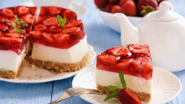5 recetas de tarta de fresas fáciles de preparar y saludables 2