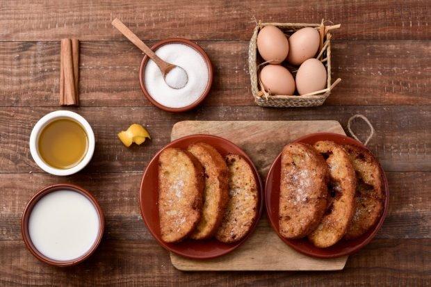 Las torrijas de té matcha son una receta original y saludable para Semana Santa