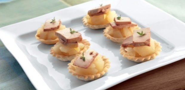 4 sabrosas recetas de tartaletas para hacer un aperitivo en un restaurante en 10 minutos