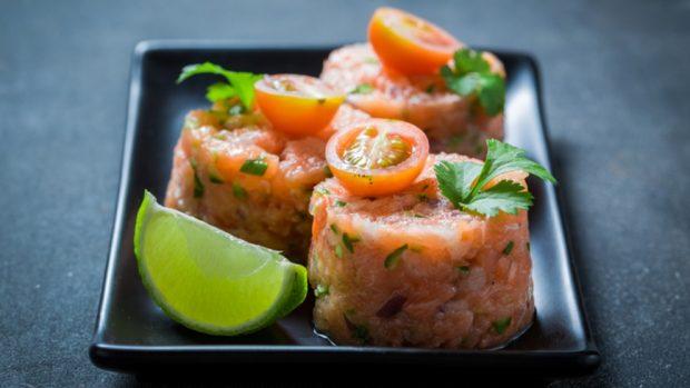 Recetas ta5 para cenas ligeras a base de salmón