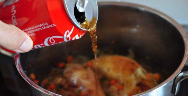 Pollo Coca Cola