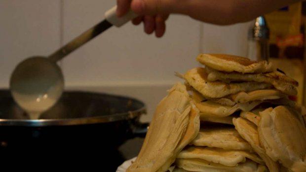 Tortitas de Cuaresma con calabaza