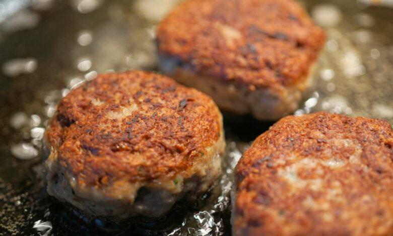 Albóndigas de salmón en salsa de queso, receta sencilla 1