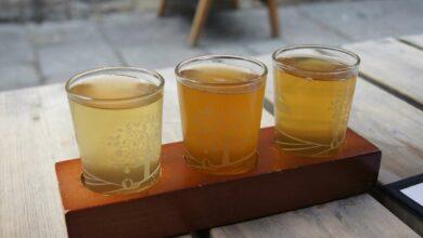 Bebida de sidra de jengibre y manzana, receta saludable 5