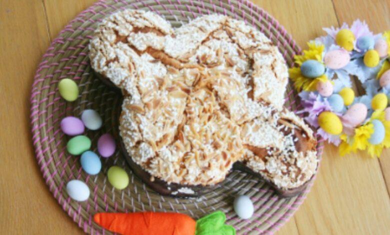 Colomba o paloma de Pascua, receta italiana de Semana Santa 1