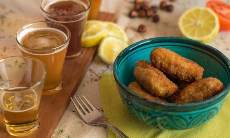 Croquetas de champiñones, receta para hacer en casa 1