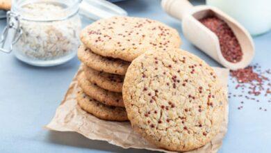 Receta de galletas de quinoa al microondas 2