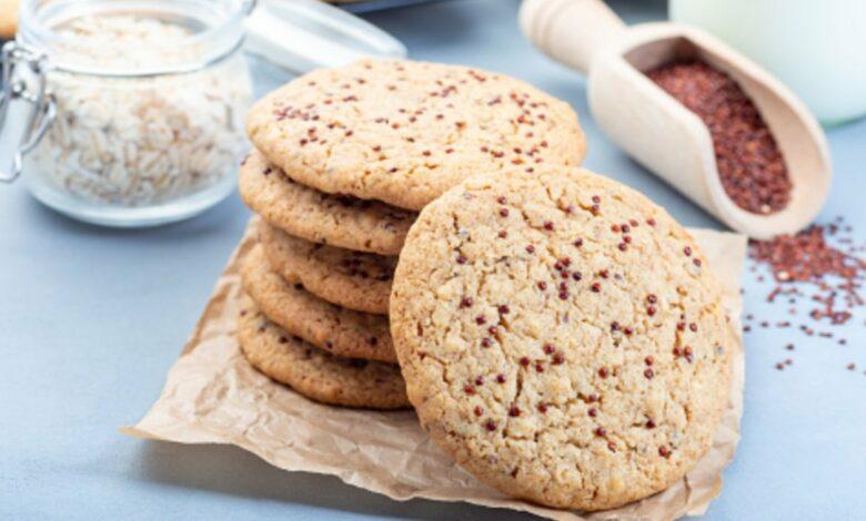 Receta de galletas de quinoa al microondas 1