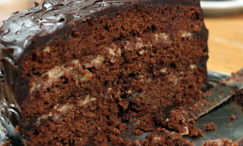 Layercake de tres chocolates, exquisita receta 1