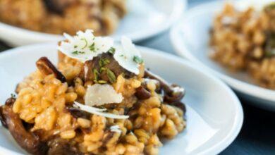 Toma nota de estas 4 recetas de risotto cremoso, delicioso y fácil de preparar 1