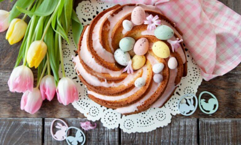5 pasteles sin azúcar para decorar como tarta de Pascua 1