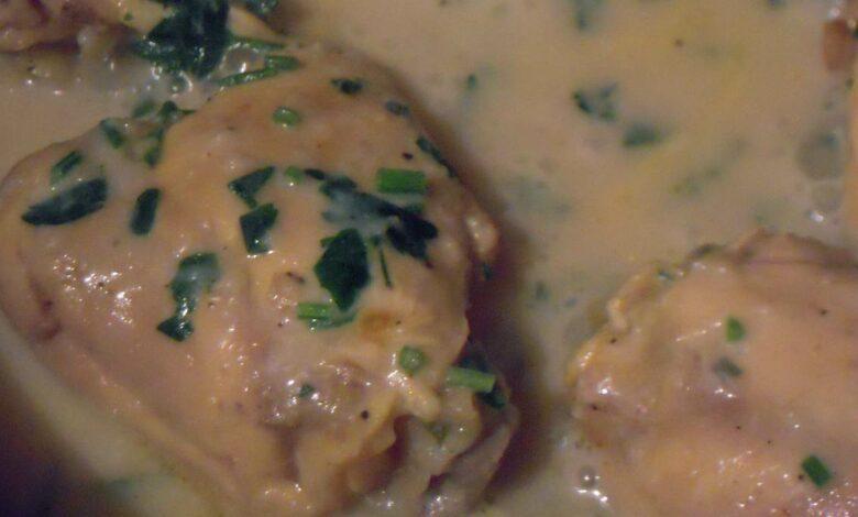 Pollo satsivi con salsa de nueces, una receta para disfrutar 1