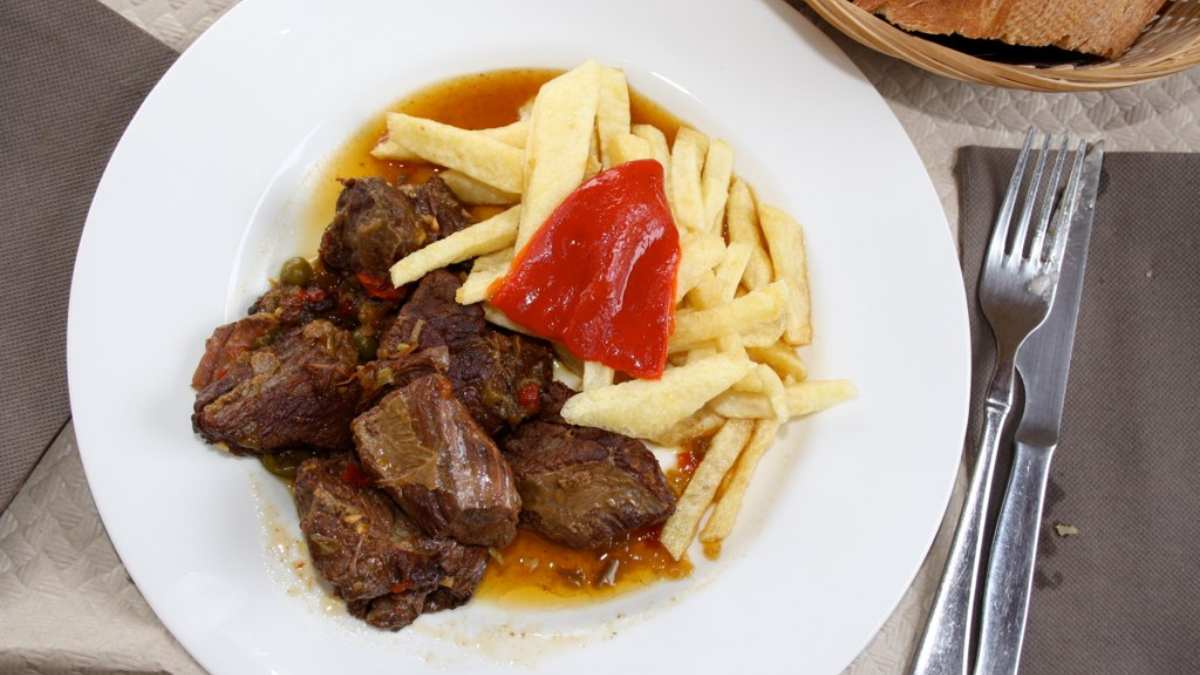 Receta de Carne guisada con patatas 1