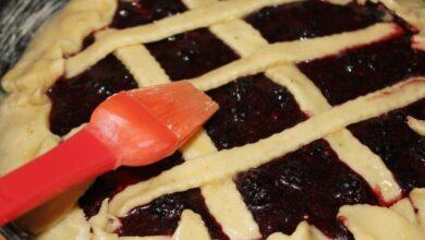 Receta de tarta de moras fácil de preparar paso a paso 5