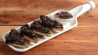 Receta de sándwich de chocolate gratinado al horno 3