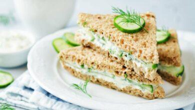 Receta de sándwich de pepino 15