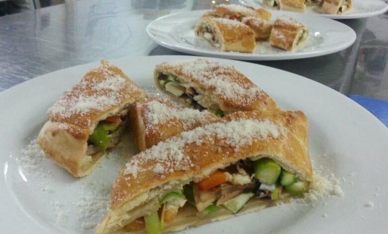 Strudel de verduras, receta vegetariana 1