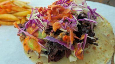 Tacos de Jamaica, receta internacional 8
