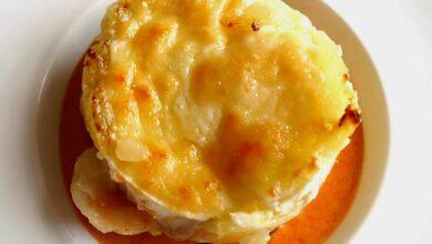Timbal de patatas revolconas, receta tradicional 5