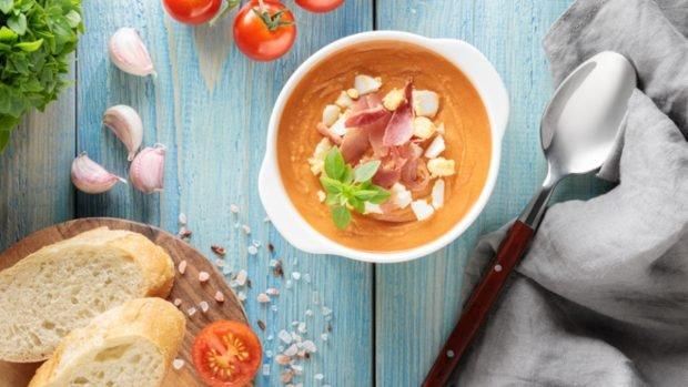 5 recetas de salmorejo para una cena de lujo o comida ligera fácil de preparar