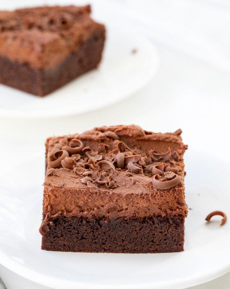 Mousse de brownie de chocolate, una receta perfecta para los amantes del chocolate