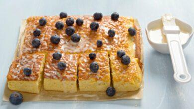 Bizcocho esponjoso de leche, una receta tradicional fácil de preparar 10