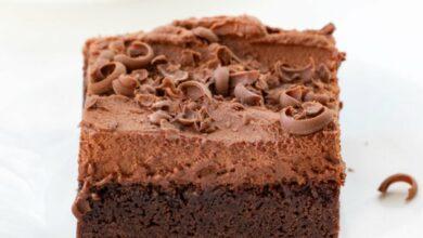 Brownie mousse de chocolate, una receta perfecta para amantes del chocolate 2