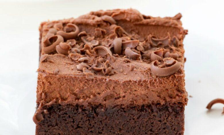 Brownie mousse de chocolate, una receta perfecta para amantes del chocolate 1
