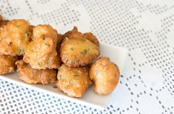 Buñuelos de bacalao al horno, receta ligera y deliciosa 1