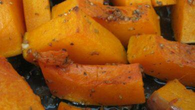Calabaza asada, receta al horno fácil 1