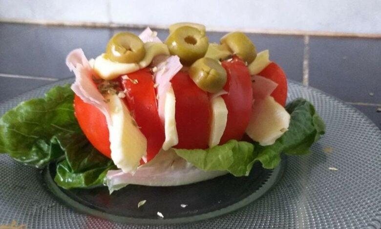 ¿Cómo hacer un acordeón de tomate? 1