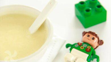Crema de multicereales para niños, receta casera 8