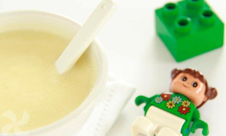 Crema de multicereales para niños, receta casera 1
