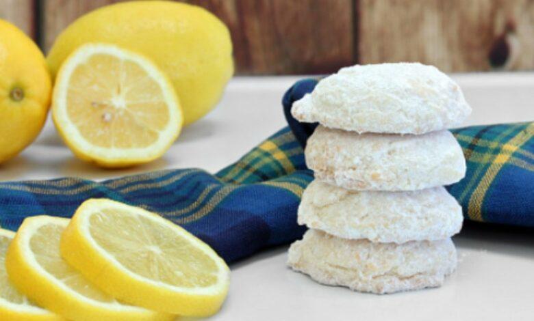 Las 5 mejores recetas de galletas de limón para acompañar el té 1