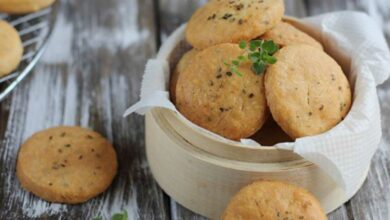 Galletas de queso cheddar, receta casera fácil 5