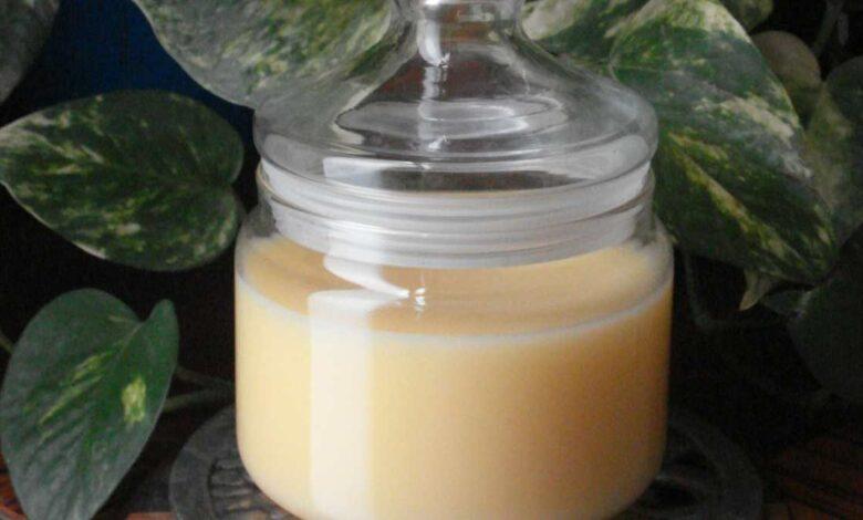 receta de la mantequilla de moda 1