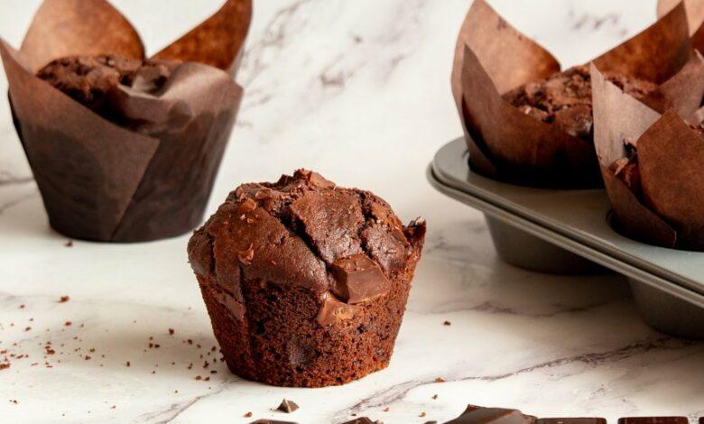 5 recetas de magdalenas de chocolate caseras, fáciles de preparar y deliciosas 1