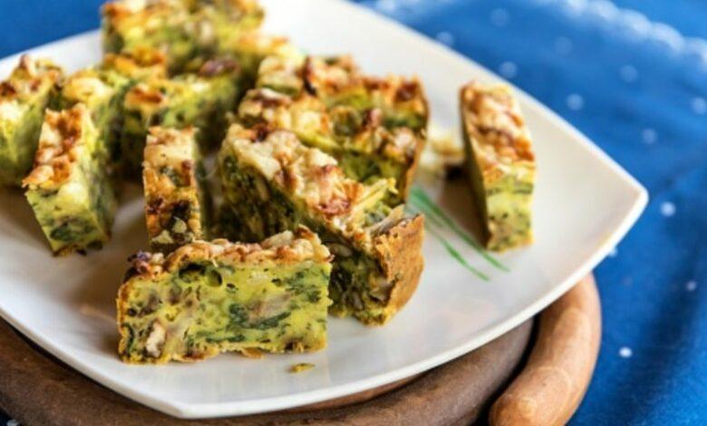 Pastel de acelgas y cebollas, receta de verduras fácil y sana 1