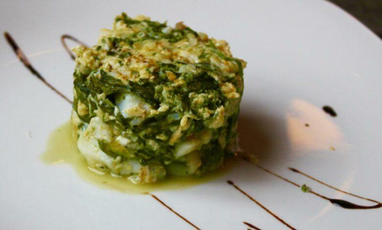 Acelgas con calabacín y huevo, receta sana y fácil de preparar 1