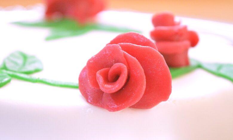 Rosas de azúcar, receta para celebrar Sant Jordi 2021 1