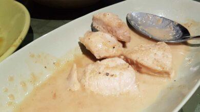 Tacos de pavo con mahonesa de pimiento rojo, receta sencilla 3