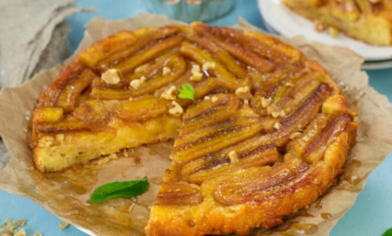 5 recetas de tarta de plátano fáciles de preparar y saludables 1