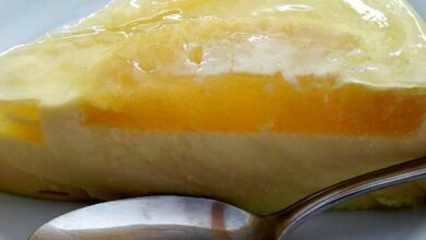 Tarta fría de piña sin horno, receta de un postre fácil 4