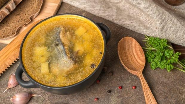 Receta de sopa de pescado con leche