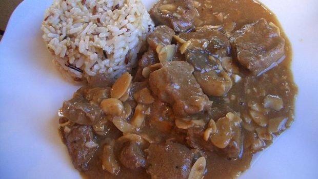 Ternera con arroz