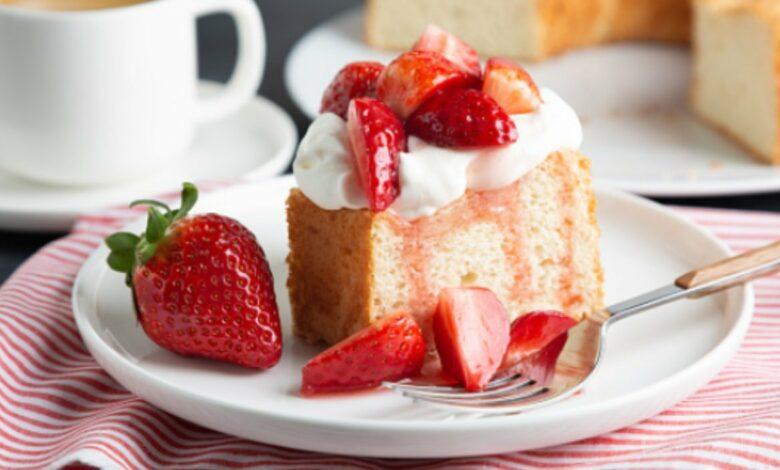 5 recetas de bizcocho con fresas fáciles de preparar y deliciosas 1