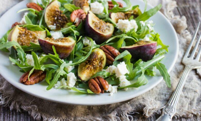 Ensalada de higos y mozzarella, receta sana fácil de preparar 1